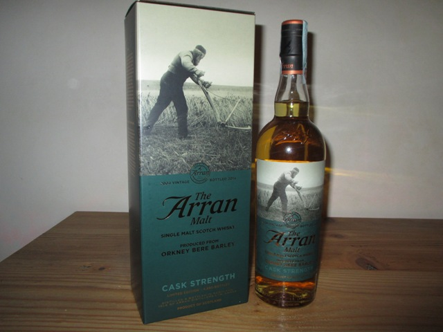 Arran Bere 10 years Cask Strenght