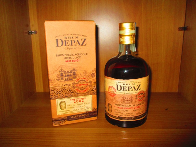 Depaz 2022 Cask Strength