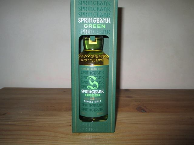 Springbank Green 12 years