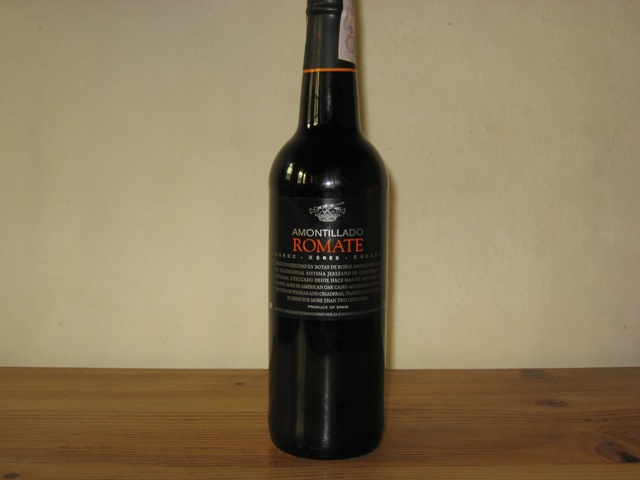 Sherry Amontillado Romate