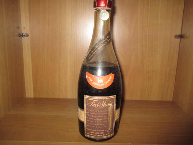 Tia Maria very ol bottle