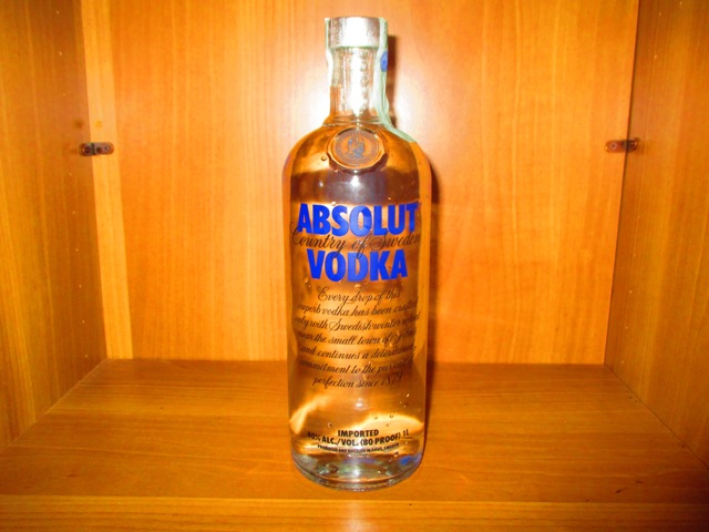 Vodka Absolute  Litro