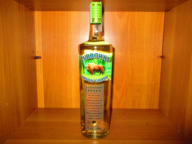 Vodka Zubrowka Bison Grass Litro