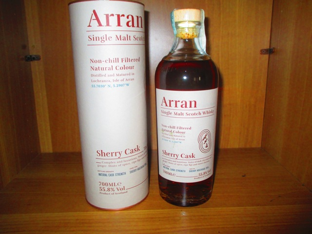 Arran Sherry Cask The Botega