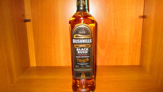 Bushmill's Balck Irish whisky